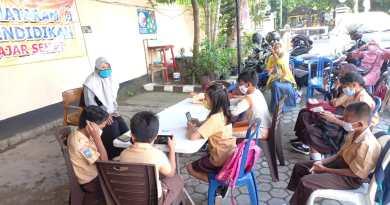 Polsek Mataram Sediakan Wifi Gratis untuk Belajar Daring