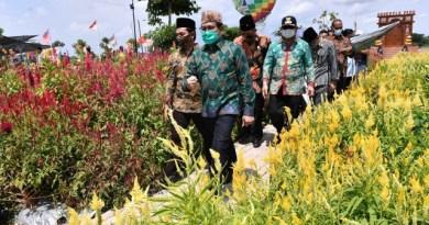 Resmikan Desa Digital, Mendes PDTT Takjub Lihat Nangkula Park di Tulungagung