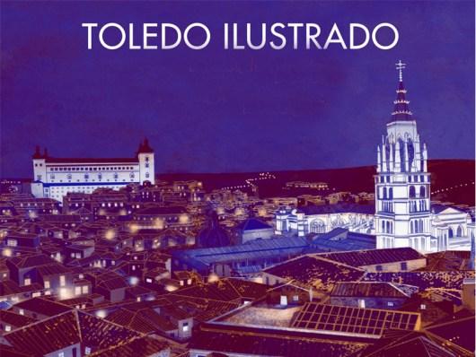 Toledo ilustrado -Eva Vazquez - Nordica Libros