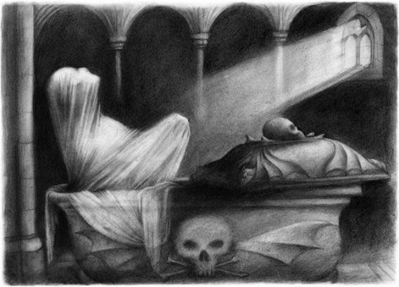 Carmilla - ilustraciones de Ana Juan en Siruela