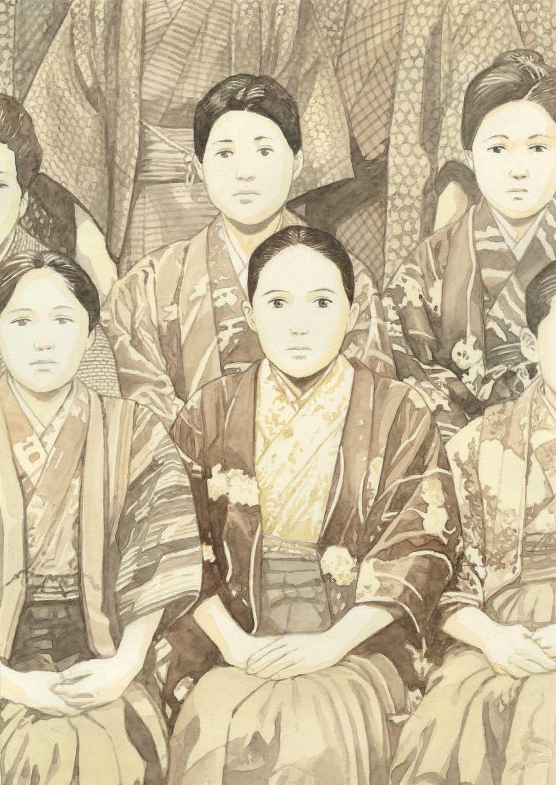 Ilustración de 'Tomoji', de Jiro Taniguchi
