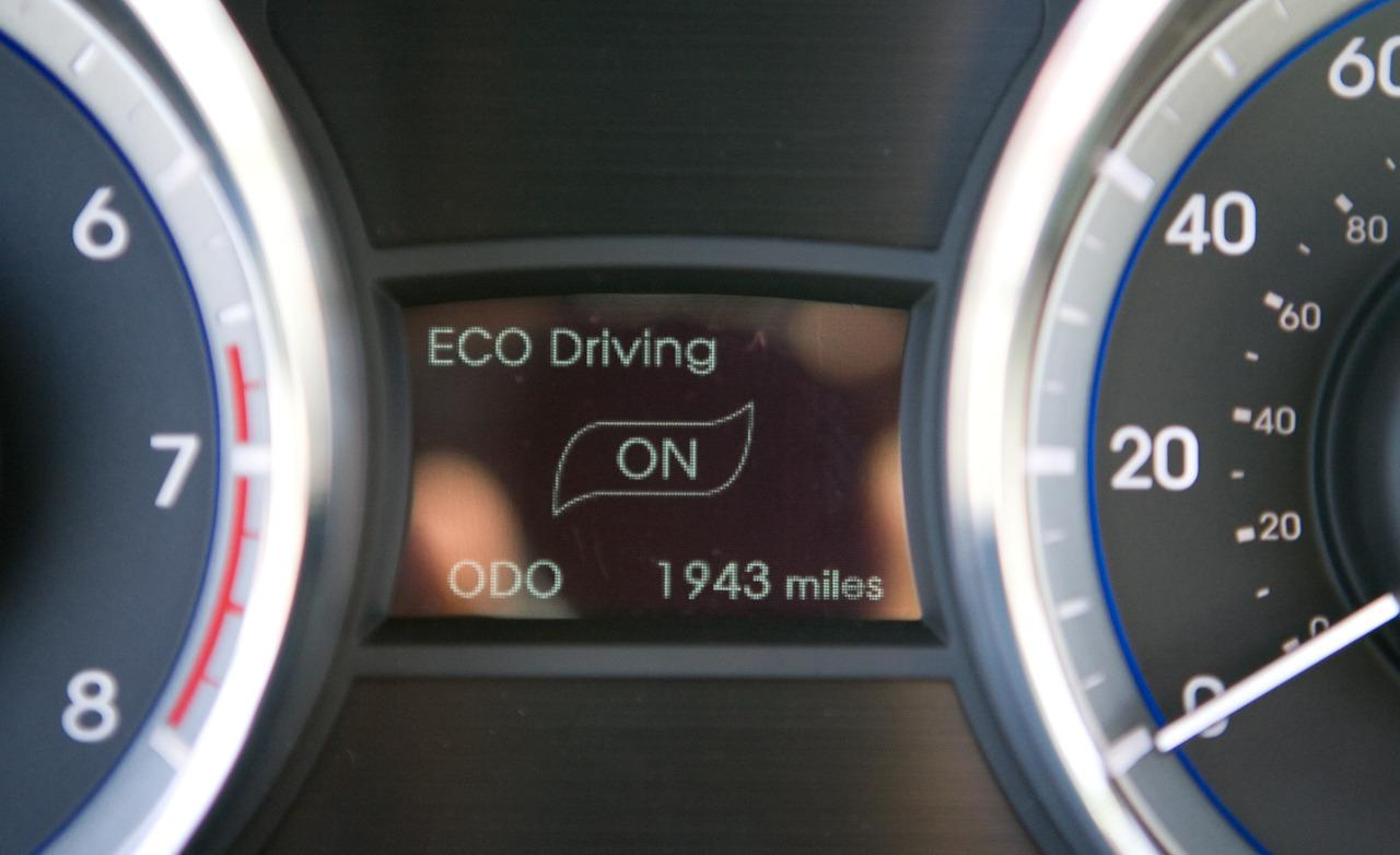 Fahrstil Eco-Drive