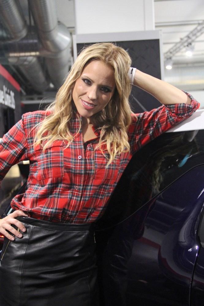 Evelyn an der Auto Züri