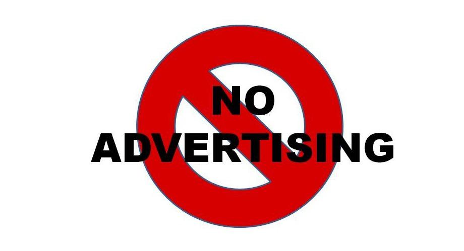 No Advertising