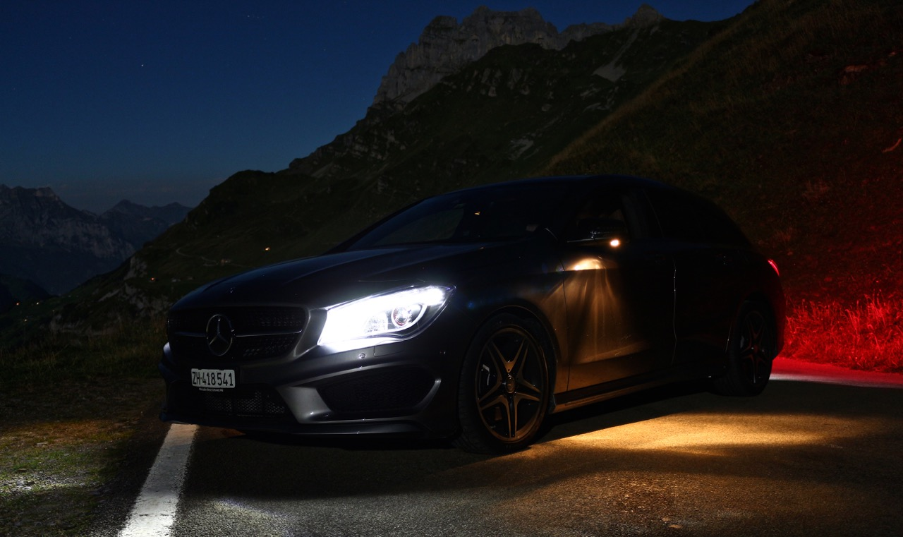 Verblendung: Mercedes CLA Shooting Brake
