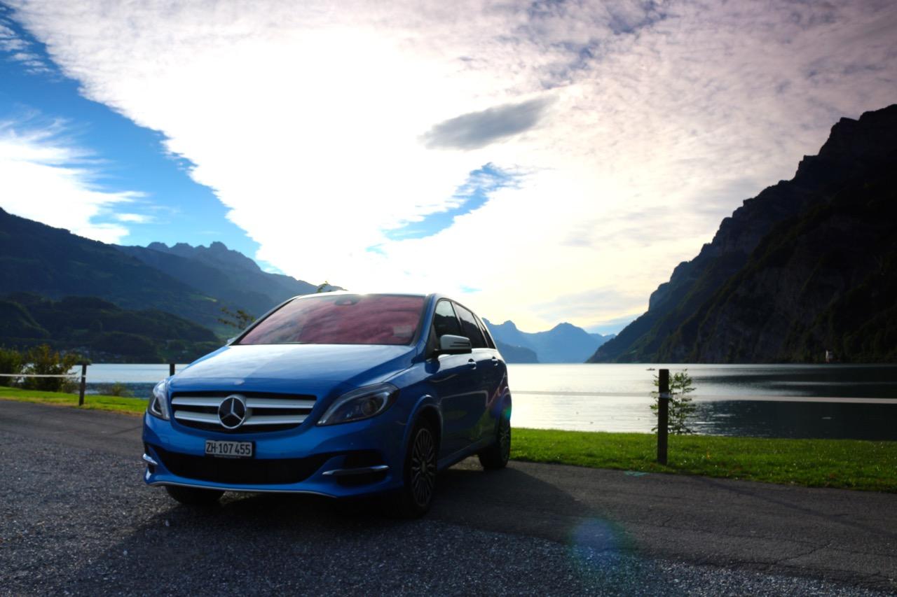 Antriebslos: Mercedes B-Klasse ED