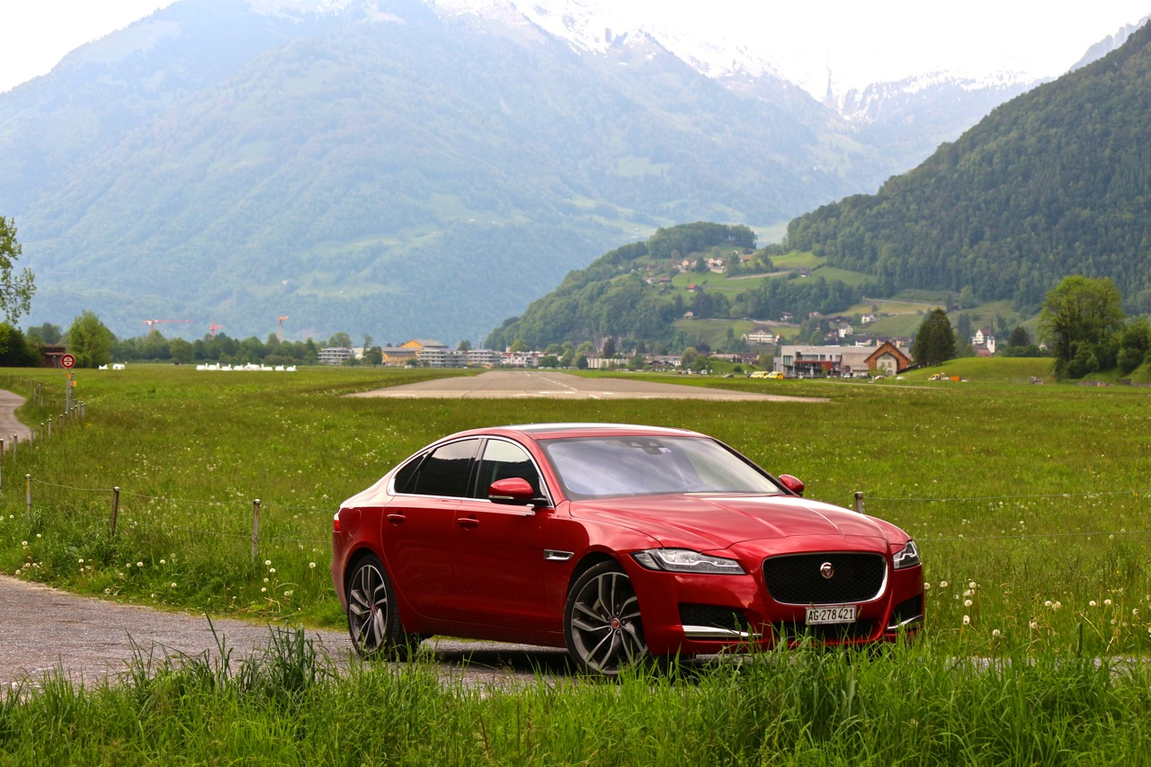 Jaguar XF: Business fürs Herz