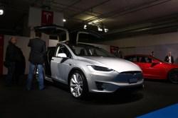 Tesla Model X. Testwahrscheinlichkeit: Gering