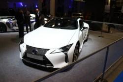 Lexus LC500. Testwahrscheinlichkeit: Mässig