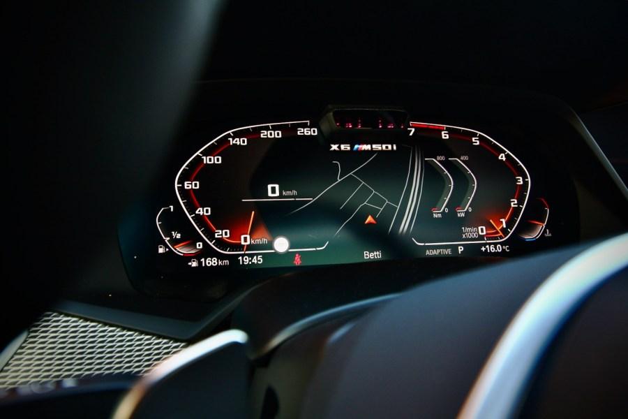2019 BMW X6 M50i