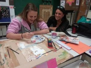 Art class is a lot of FUN!
