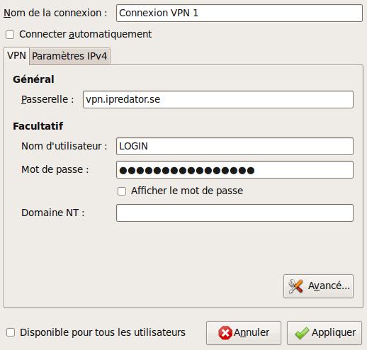 Capture-Modification de Connexion VPN 1