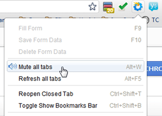 Mute All Tabs Google Chrome