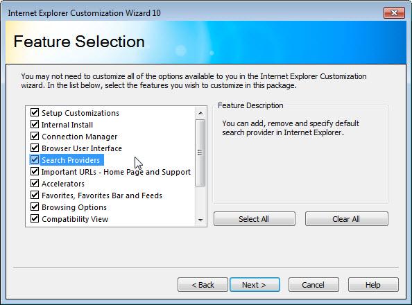 internet explorer administration kit 10