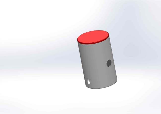 Boitier cylindrique Sans pied