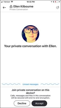 Skype end-to-end encryption