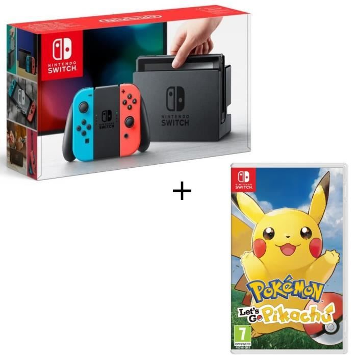 Pack Nintendo Switch Pokemon