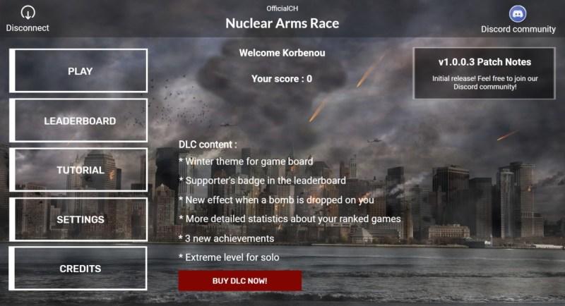 Intro Nuclear Arms Race