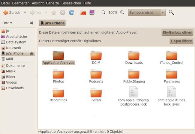 iphone2 Faille dans liPhone   Accéder aux fichiers chiffrés avec un simple Linux