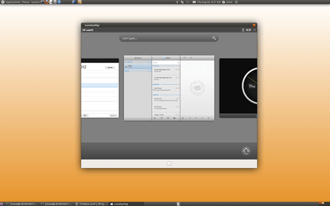 desktopbeta Open WebOS sort en beta 1.0