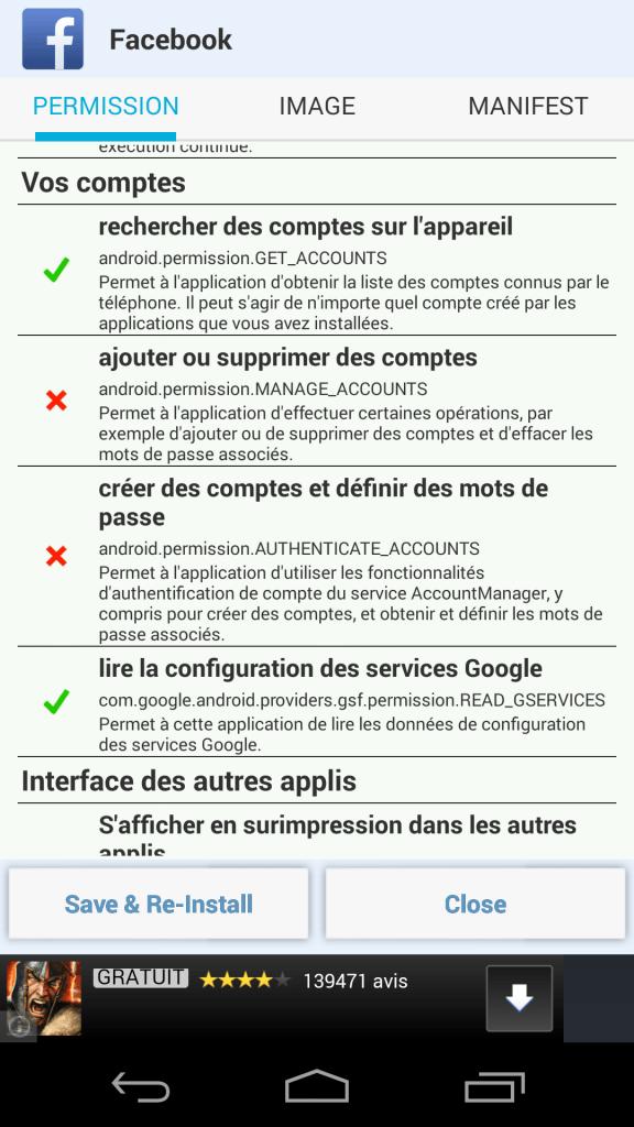 Voici comment retirer les permissions des applications du Google Play Store
