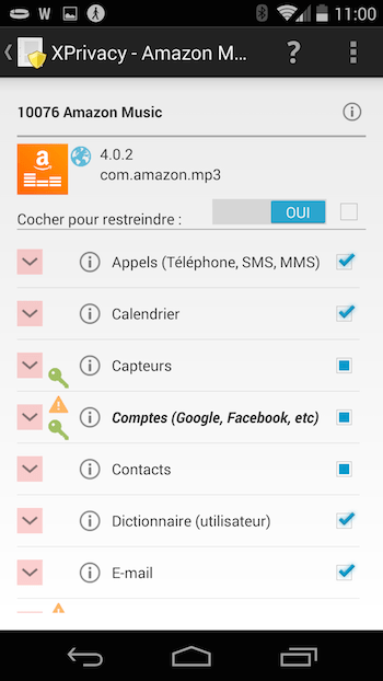 Découvrez XPrivacy et protégez vos données personnelles sur votre mobile