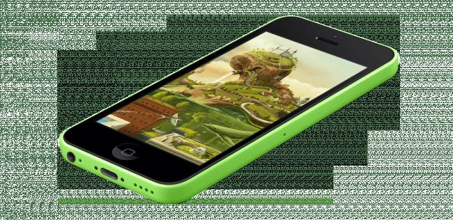 wallpaper 1324799 iphone5c green angle1 e1407102714825 650x316 MockUPhone   Générez des maquettes avec vos screens dapp ou de sites