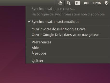 client linux pour google drive3 Grive   Installez Google Drive sous Ubuntu