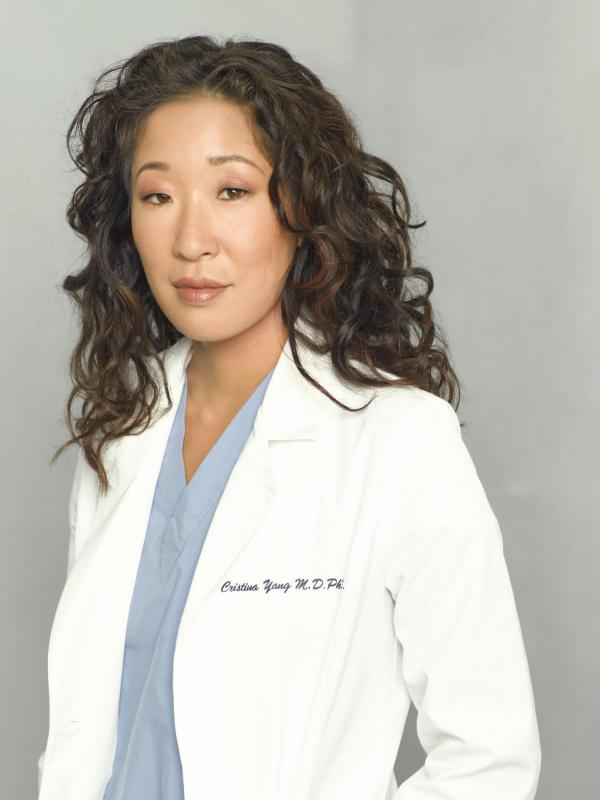 Sandra Leave Grey Anatomy Korea-canada