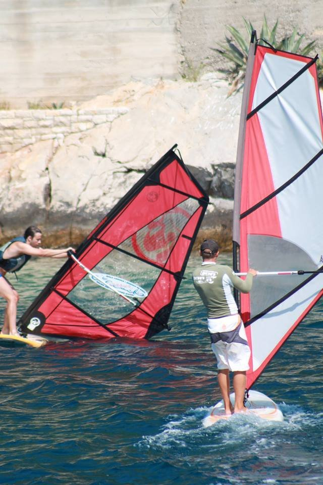 extreme windsurfing lessons grscica 2013 19 - Windsurfing School - Summer 2013