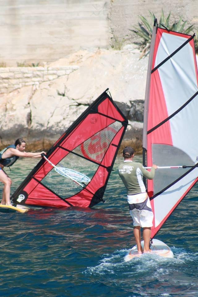 extreme windsurfing lessons grscica 2013 19 - Windsurfing School - Summer 2013