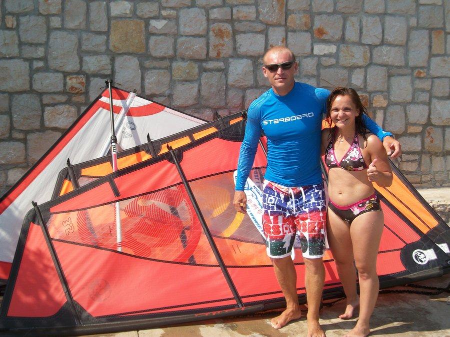 polaznici skole jedrenja extreme grscica 2013 10 - Windsurfing School - Summer 2013