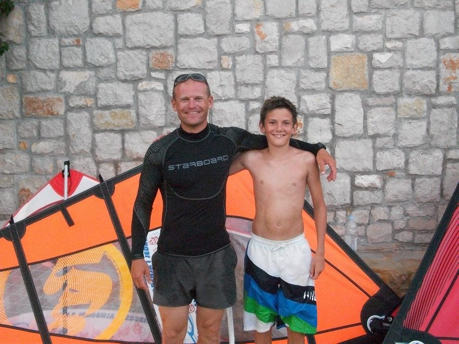 polaznici skole jedrenja extreme grscica 2013 11 - Windsurfing School - Summer 2013