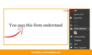 Grammatical error correction