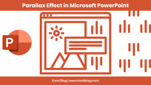 Cover-parallax effect in MS PowerPoint