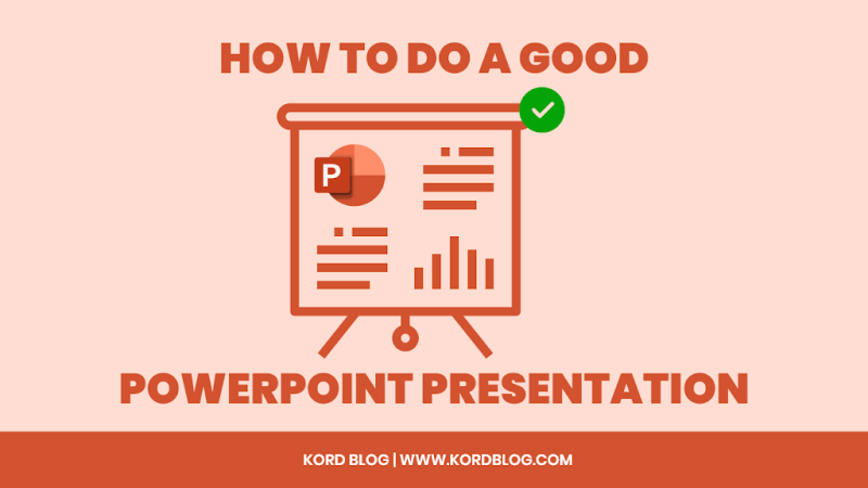 A good PowerPoint presentation