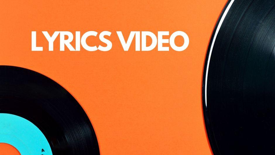 You can make Lyric video