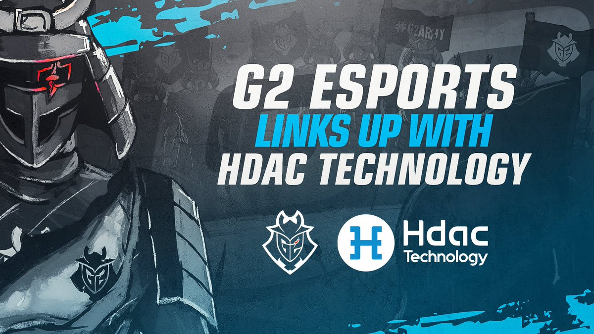 G2 Esports Partners With Hdac Technology