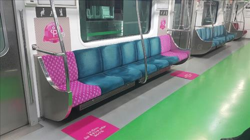 Image result for korean subway pregnancy seats