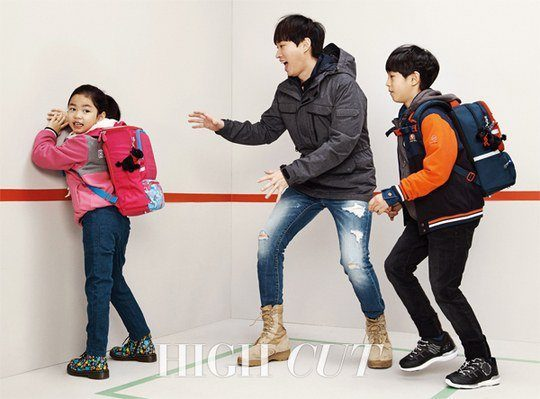 """Haru Is All Grown Up And Playful For """"High Cut"""""""