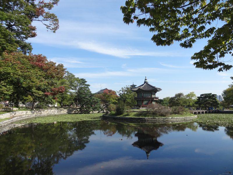 Gyeongbokgung Palace in Different Seasons