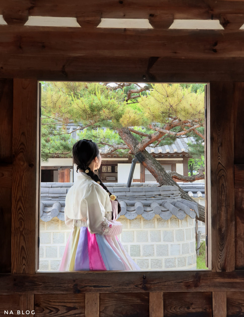 hidden charm corner at hanok village