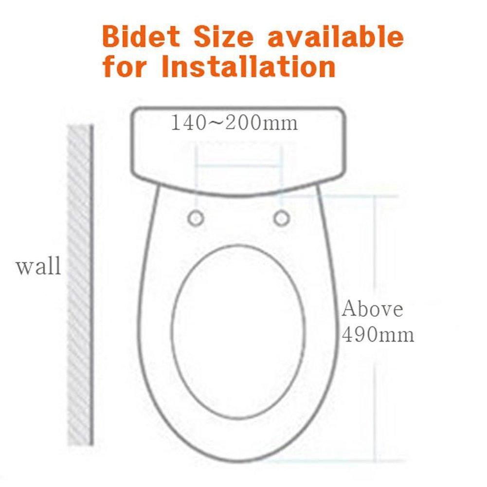 DAELIM DOBIDOS DLB-712 Toilet Bidet Toilet Seat Warm Water