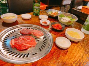 お肉+パンチャン