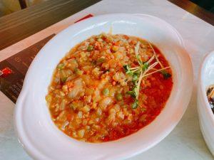 白いジャジャン麺