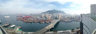 Panoramic of Busan