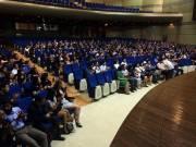 EPIK teachers gathering for the closing ceremonies.