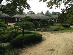 Traditional Korea house, called Hanok.
