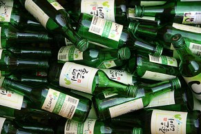 Soju, it tastes better than straight vodka, and it packs a stronger punch!