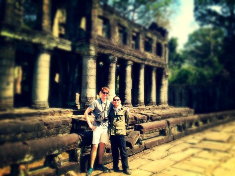 My tour guide for 3 out of 4 days in Siem Reap